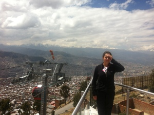 View from El Alto station