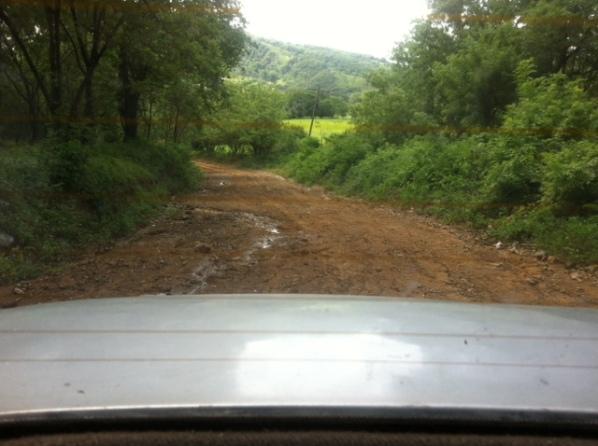 Dangerous road!