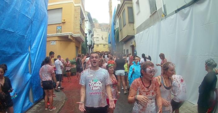 spain tomato festival